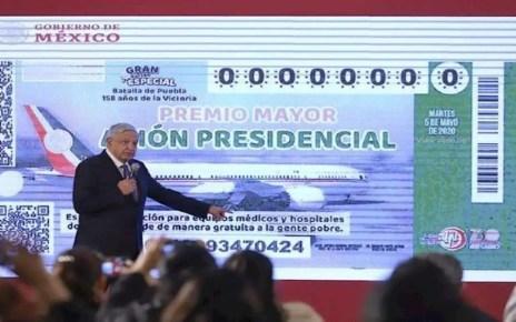 Gobierno de M?xico rifa el avi?n presidencial, El presidente mexicano Manuel L?pez Obrador, El costo del boleto, un Boeing 787-8 Dreamline