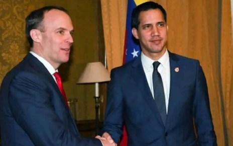 Canciller del Reino Unido, Venezuela, una soluci?n pac?fica y democr?tica, ministro de Relaciones Exteriores del Reino Unido, Dominic Raag, Juan Guaid?