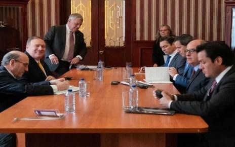 visita de Pompeo en Bogot?, Comando Sur de EEUU, anuncia ejercicios militares con Colombia, l?der opositor venezolano Juan Guaid?.