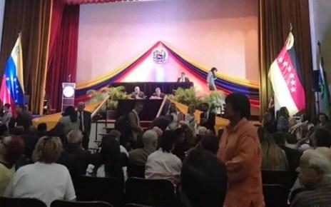 Asamblea Nacional presidida por Juan Guaidó