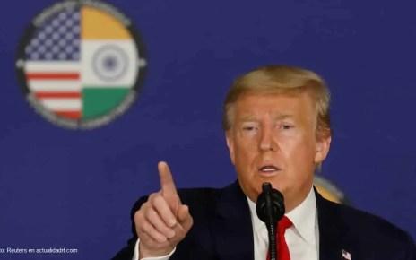 Presidente Trump toma la medida de suspender la inmigraci?n a EE.UU.debido al ?enemigo invisible? del nuevo coronavirus para proteger los empleos