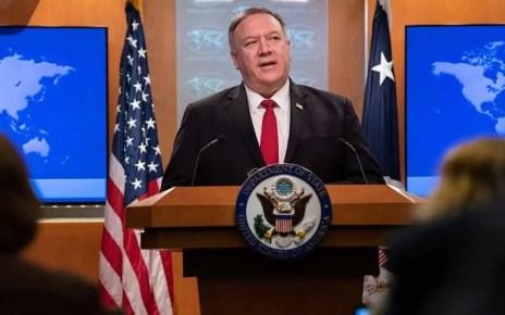 El secretario de estado de los EEUU, Mike Pompeo: Maduro manipul? la constituci?n y nombr? ilegalmente un nuevo CNE alineado con el r?gimen