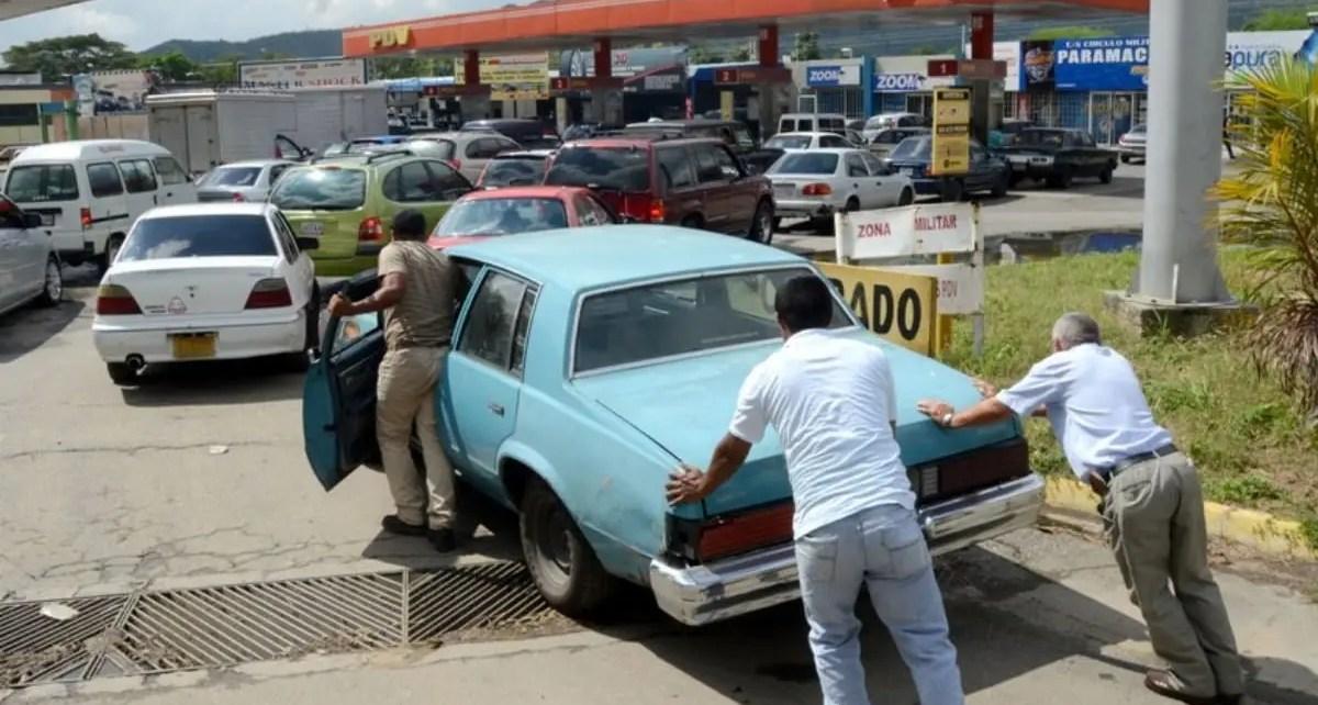The Washington Post refleja la in?dita crisis del combustible en Venezuela
