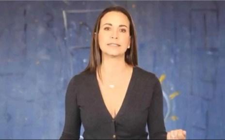 María Corina Machado: luego de su reunión con Guaidó: Los venezolanos tienen mas opción que falsas electorales y consultas plebiscitaria