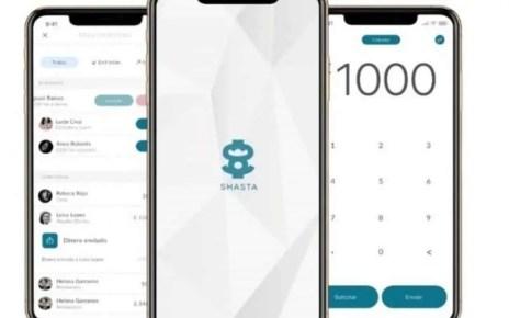 La aplicaci?n Shasta es de descarga gratuita y ofrece tarjeta internacional a sus usuarios