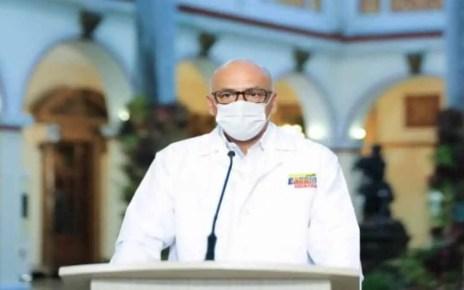El ministro de Comunicación e Información de Venezuela, Jorge Rodríguez, informó que se había recuperado del Covid-19.?guez inform? que result? positivo por coronavirus, seg?n lo se?al? en su cuenta twitter