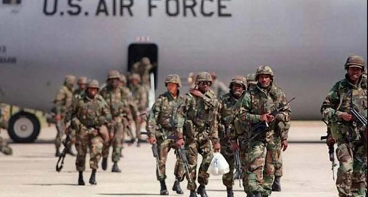 Trump dijo que reducirán las tropas