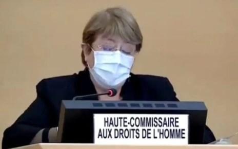 La Alta Comisionada de DDHH de la ONU presentó la actualización de su informe sobre Venezuela este viernes en el Consejo General