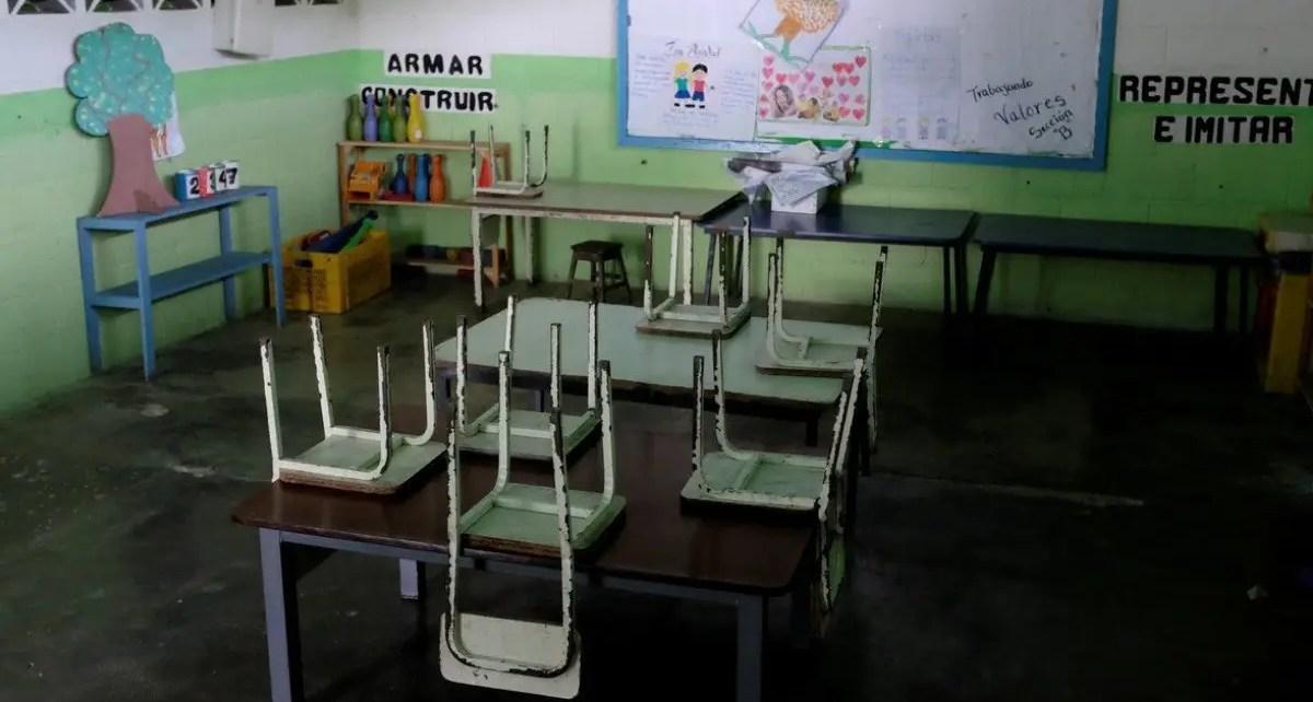 La Federación Venezolana de Maestros emitió un comunicado exponiendo la negativa iniciar las clases