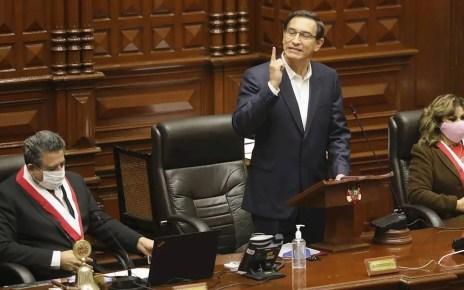 Vizcarra recibió la mayoría de votos a su favor, los cuales rechazaron la solicitud de destituirlo de la presidencia de Perú