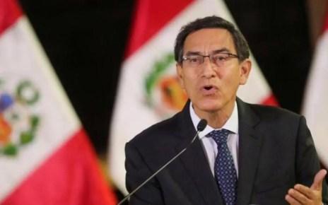 El presidente de Perú Martín Vizcarra se encuentra acorralado por el Congreso de Perú, luego de ser descubierto de instar a mentir