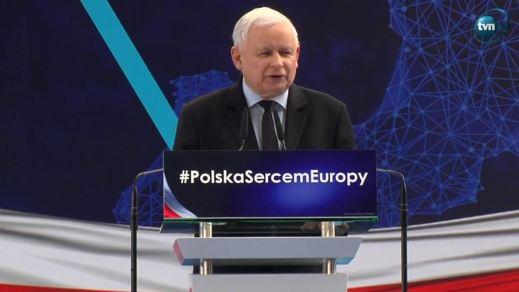 J. Kaczyński na Konwencji PiS w Jasionce