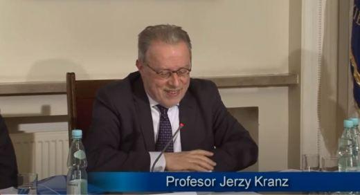Prof. Jerzy Kranz,
