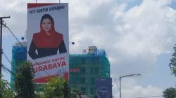 Baliho Puti Terpampang, Sinyal Maju Pilkada Surabaya?