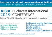 Formare profesională continuă: Conferința Internațională ABA - București, aprilie 2019