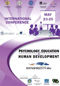 Conferința Internațională Psychology, Education and Human Development - afis