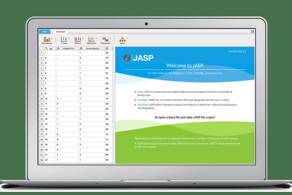 Dacă doriţi o alternativă gratuită la SPSS, JASP poate fi programul de statistică care să înlocuiască definitiv SPSS-ul