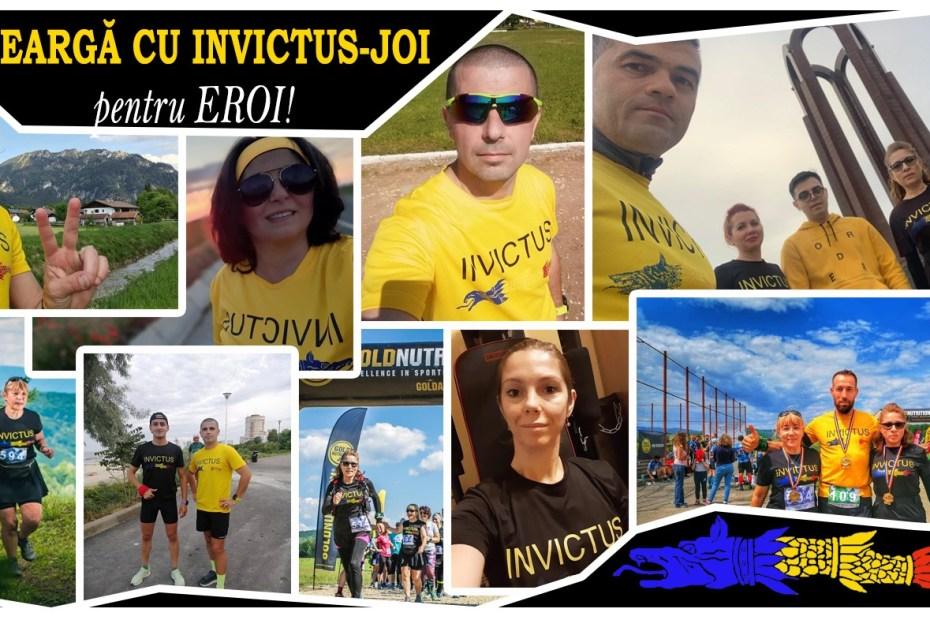Aleargă cu #Invictus Joi pentru #Eroi