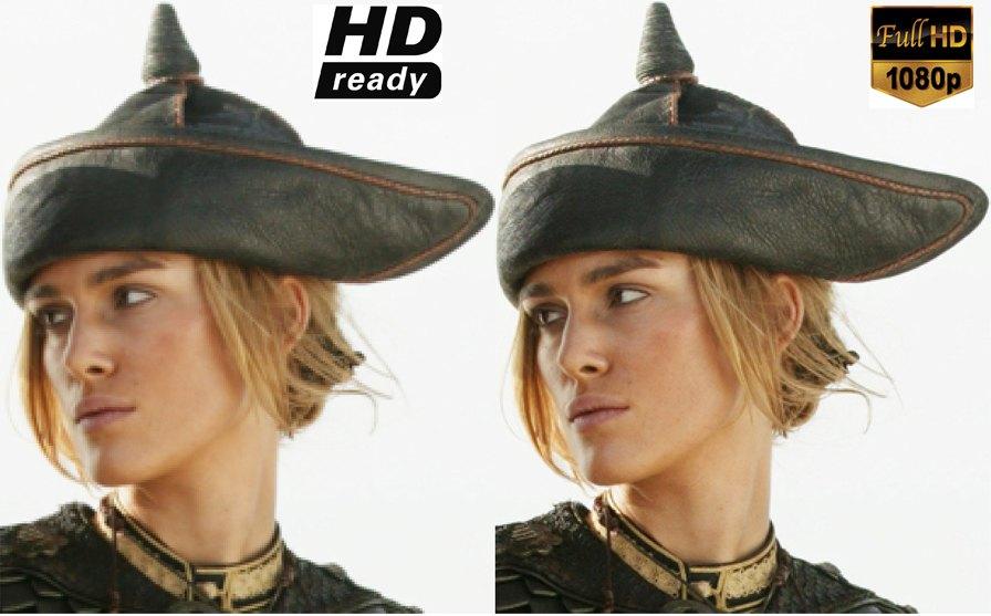 Сравнение HD и Full HD