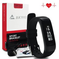Waterproof Fitness Tracker with Real-time Heart Rate Monitor Activity Tracker