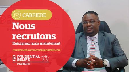 OFFRE D'EMPLOI PRUDENTIAL