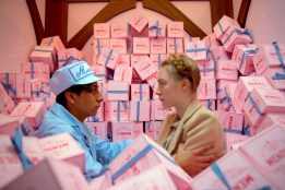 epa04055543 An undated handout picture provided by the Berlin Film Festival organization on 05 February 2014 shows the actors Tony Revolori as Zero Moustafa and Saoirse Ronan as Agatha in a still from the film 'The Grand Budapest Hotel' by director Martin Scali. The movie opens the 64th annual Berlin Film Festival on 06 February 2014, which runs from 06 to 16 February. EPA/MARTIN SCALI/20TH CENTURY FOX/BERLINALE/HANDOUT EDITORIAL USE ONLY/MANDATORY CREDIT/NO SALES/USE ONLY UNTIL 15 March 2014 HANDOUT EDITORIAL USE ONLY