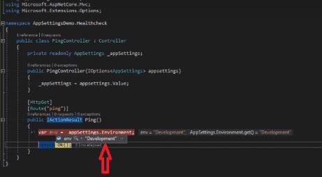 read appsetting properties in asp.net core