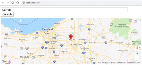 HERE Map Web API