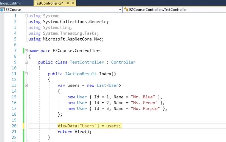 viewdata in asp.net core