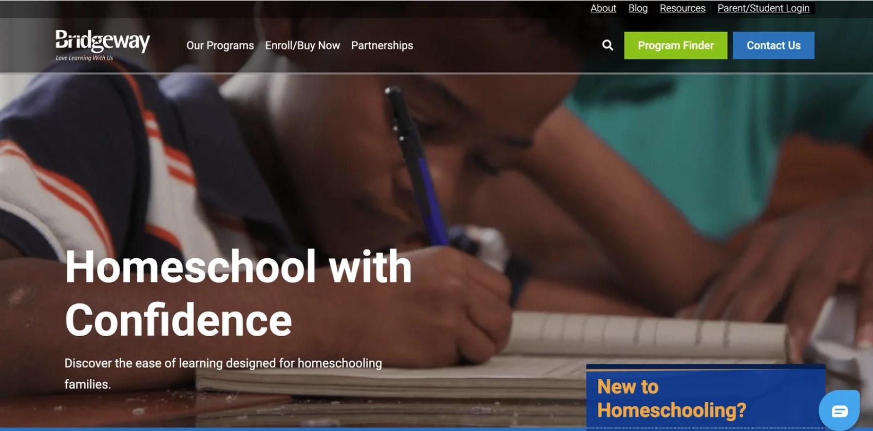 homeschooling with bridgeway academy review