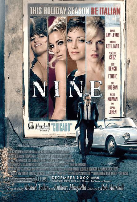 Rob Marshall Nine poster