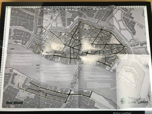 Map 3 Front - Sewer Network