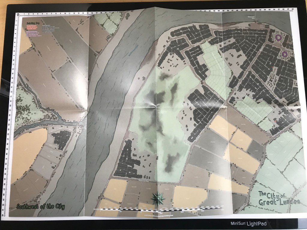 Map 3 Rear - SW Quadrant