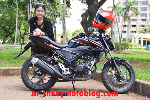 review honda cb150r-5