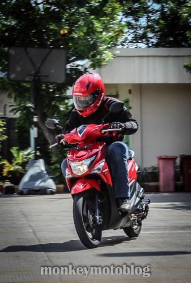 test ride beat esp-2