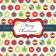 red blue and green christmas wrapping