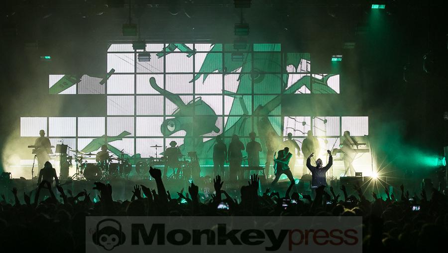 Gorillaz, © Michael Gamon