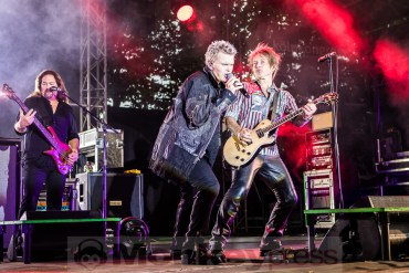 BILLY IDOL – Köln, Tanzbrunnen (17.07.2018)