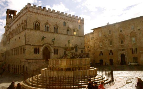 perugia umbria market square