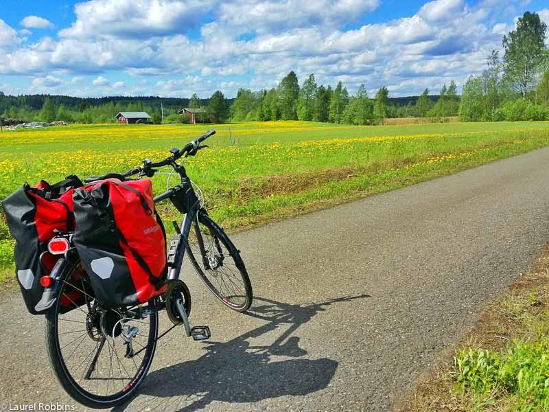 adventures of cycling EuroVelo 13 Finland -3