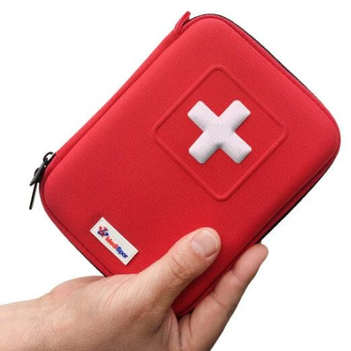 day hiking packing list: perfect mini first aid kit for mountain adventures