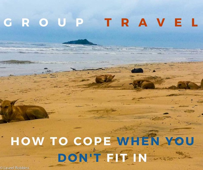 traveling with a group: how to hope you feel alone