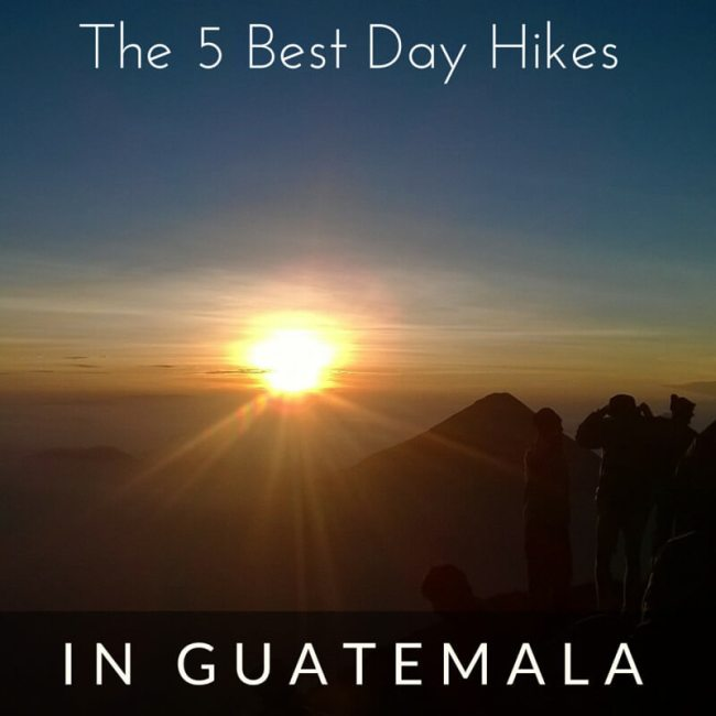 Hikes in guatemala