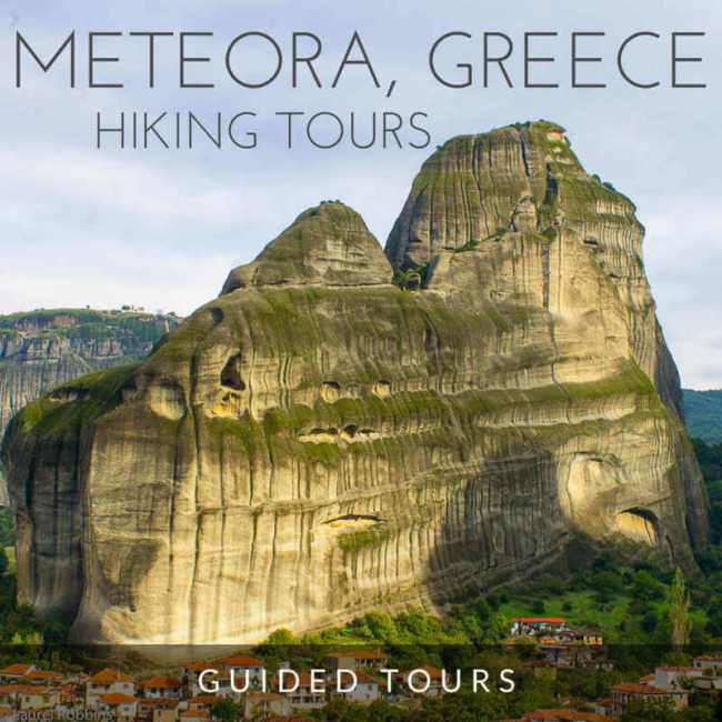 guided hiking tours in Meteora, Greece