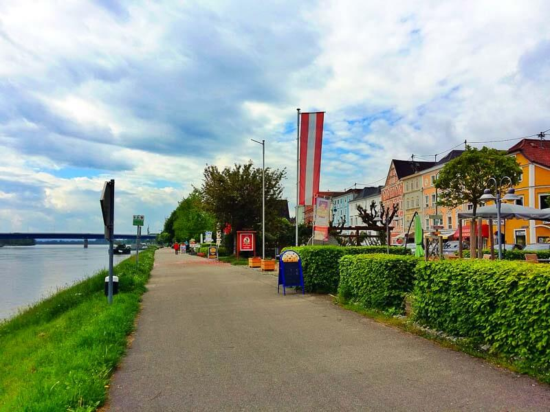 Cycling along the Danube River from Passau, Germany to Vienna, Austria