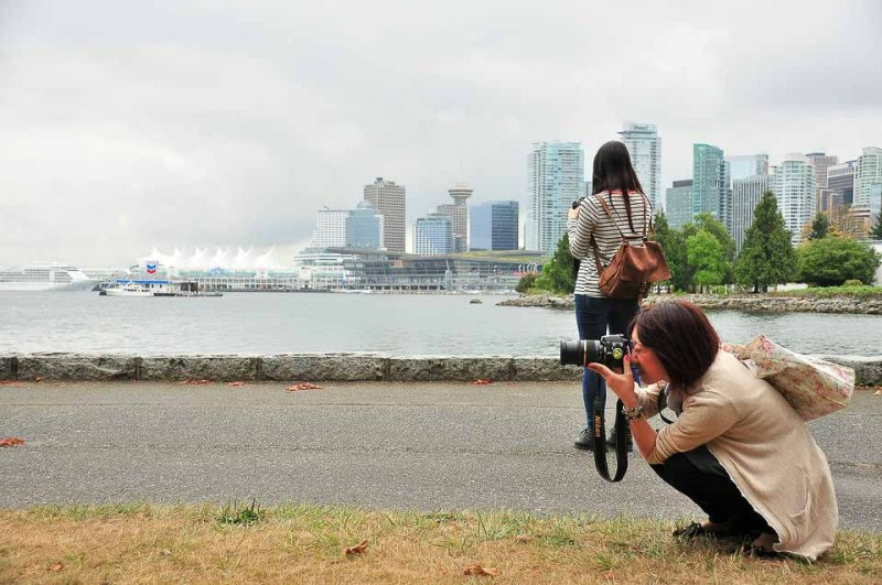 Photography tour in Stanley Park, Vancouver