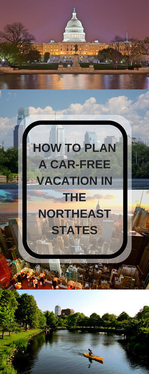 visit these 4 walkable cities in the northeastern states for a car free vacation