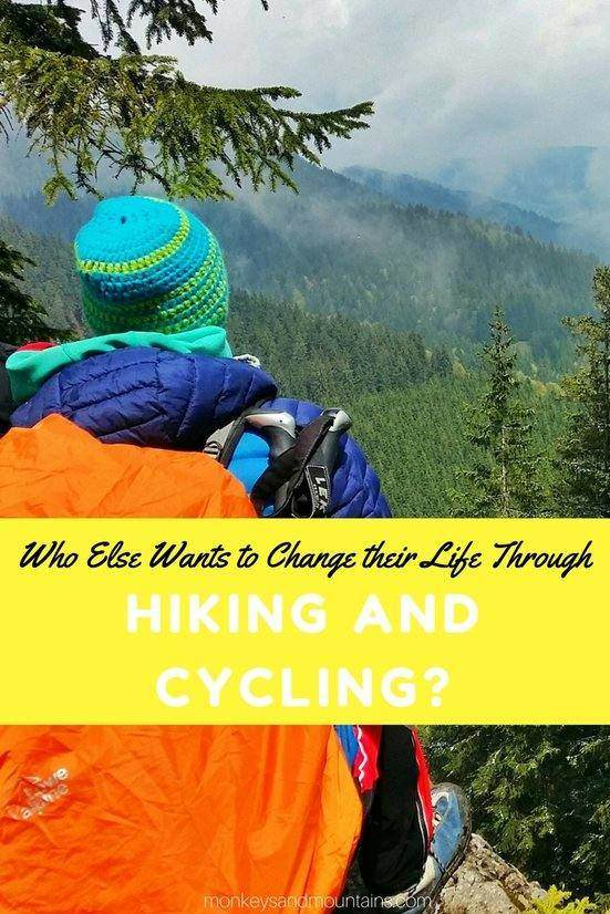 how long distance hiking and cycling trips can change your life