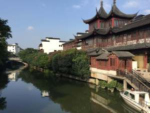 nanjing river scene