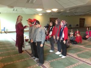Mosque visit photo